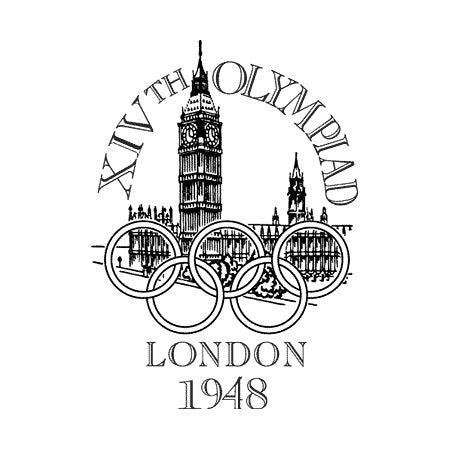 1948 Olympic logo