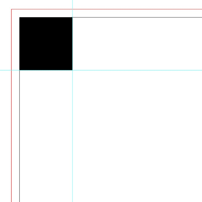 Small corner in Illustrator