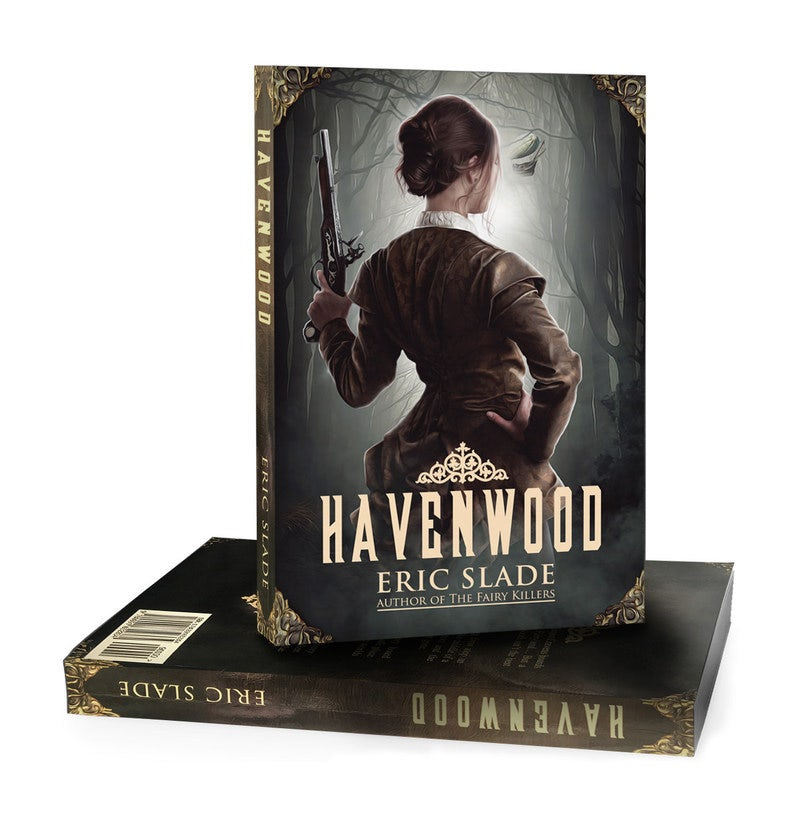 Book cover design for Havenwood