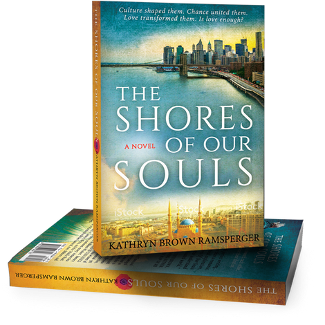 book cover design for The Shores of Our Souls by Kathryn Brown Ramsperger