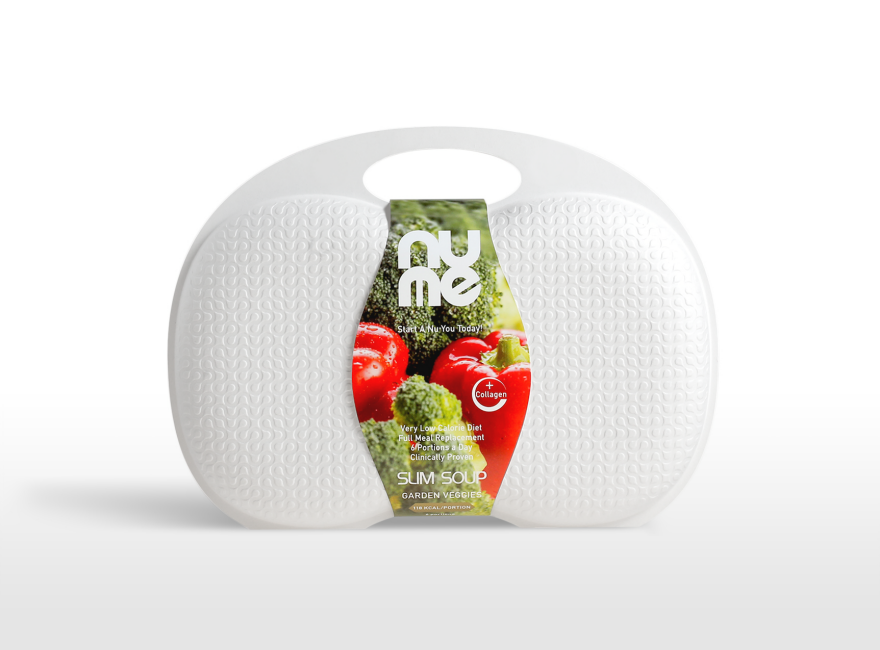 Packaging design for nuMe