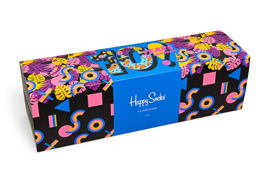 Happy Socks Limited Edition Product Packaging