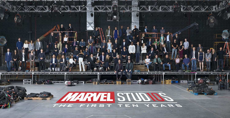 Marvel Cinematic Universe Group Anniversary Photo
