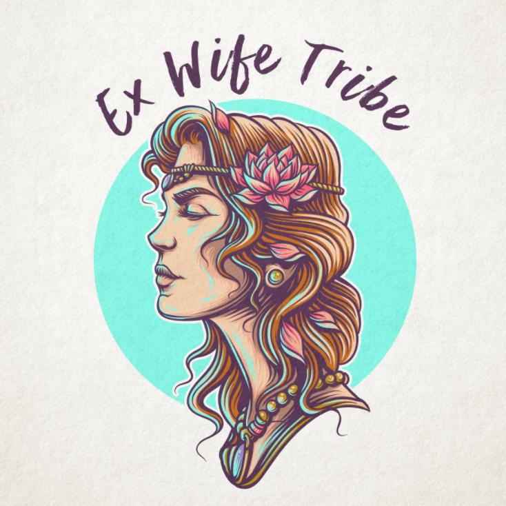 illustration logo for Ex Wife Tribe