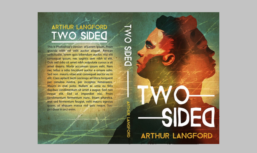 Two Sided book cover