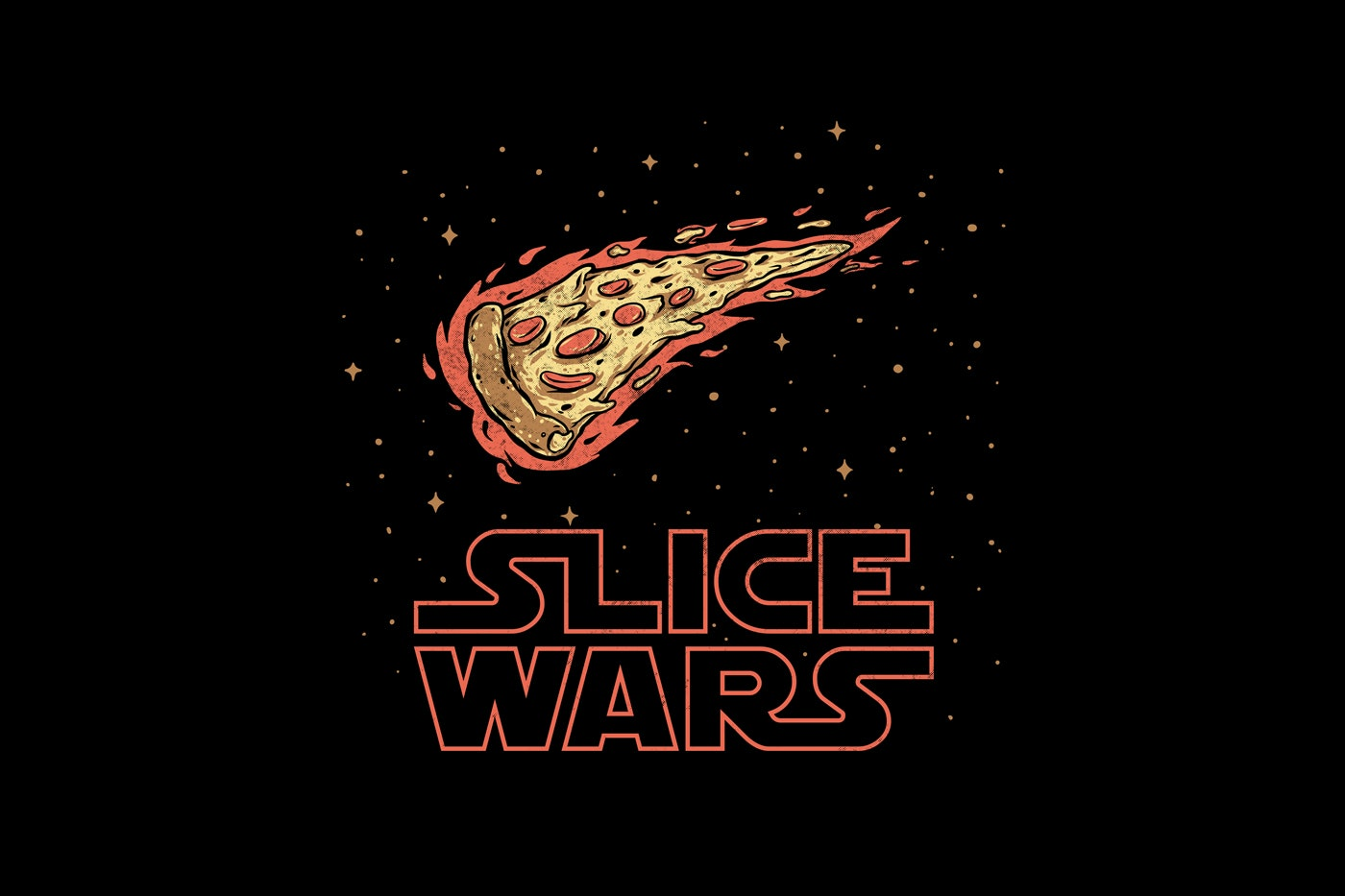 pizza t-shirt design