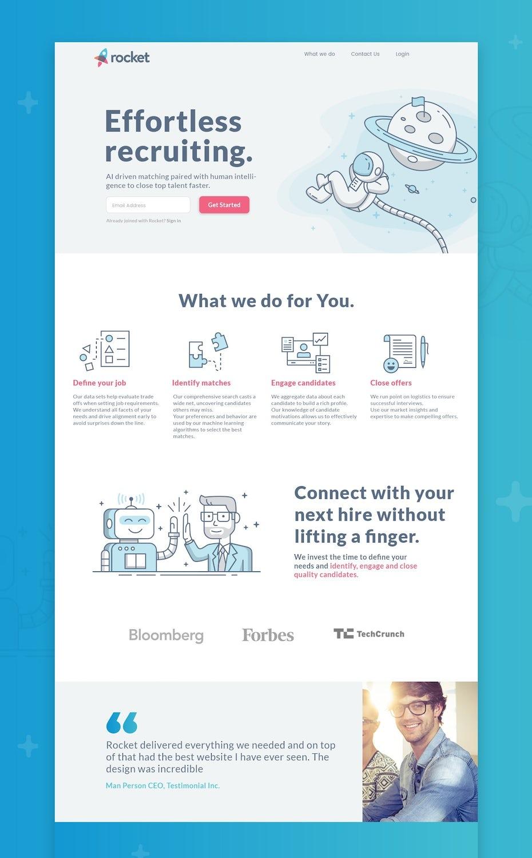 lineart webdesign