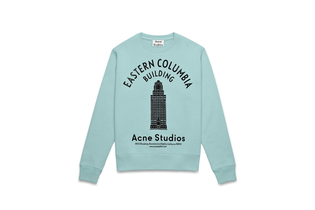 Acne Studios Eastern Columbia Building Sweatshirt