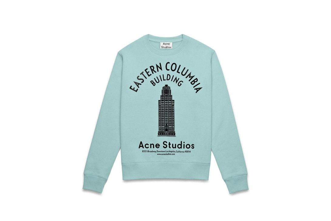 Acne Studios Eastern Columbia Building Sweatshirt