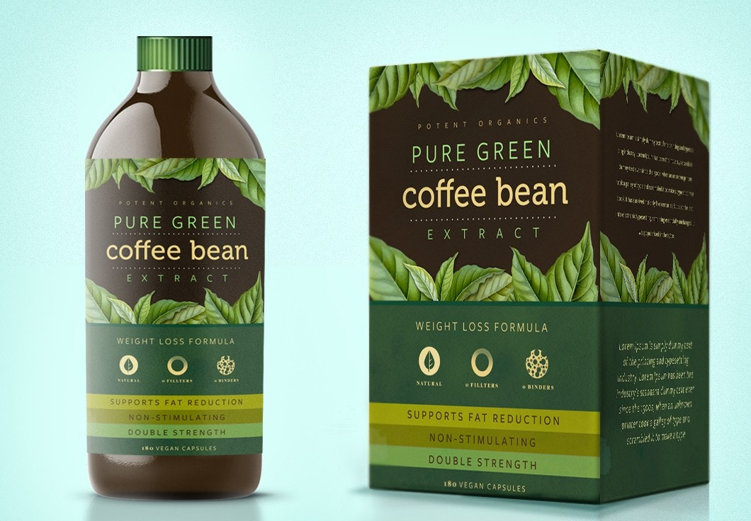 Coffee bottle design