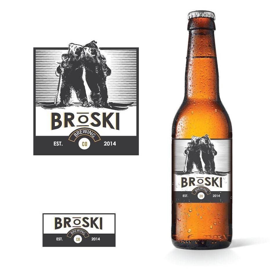 Broski logo