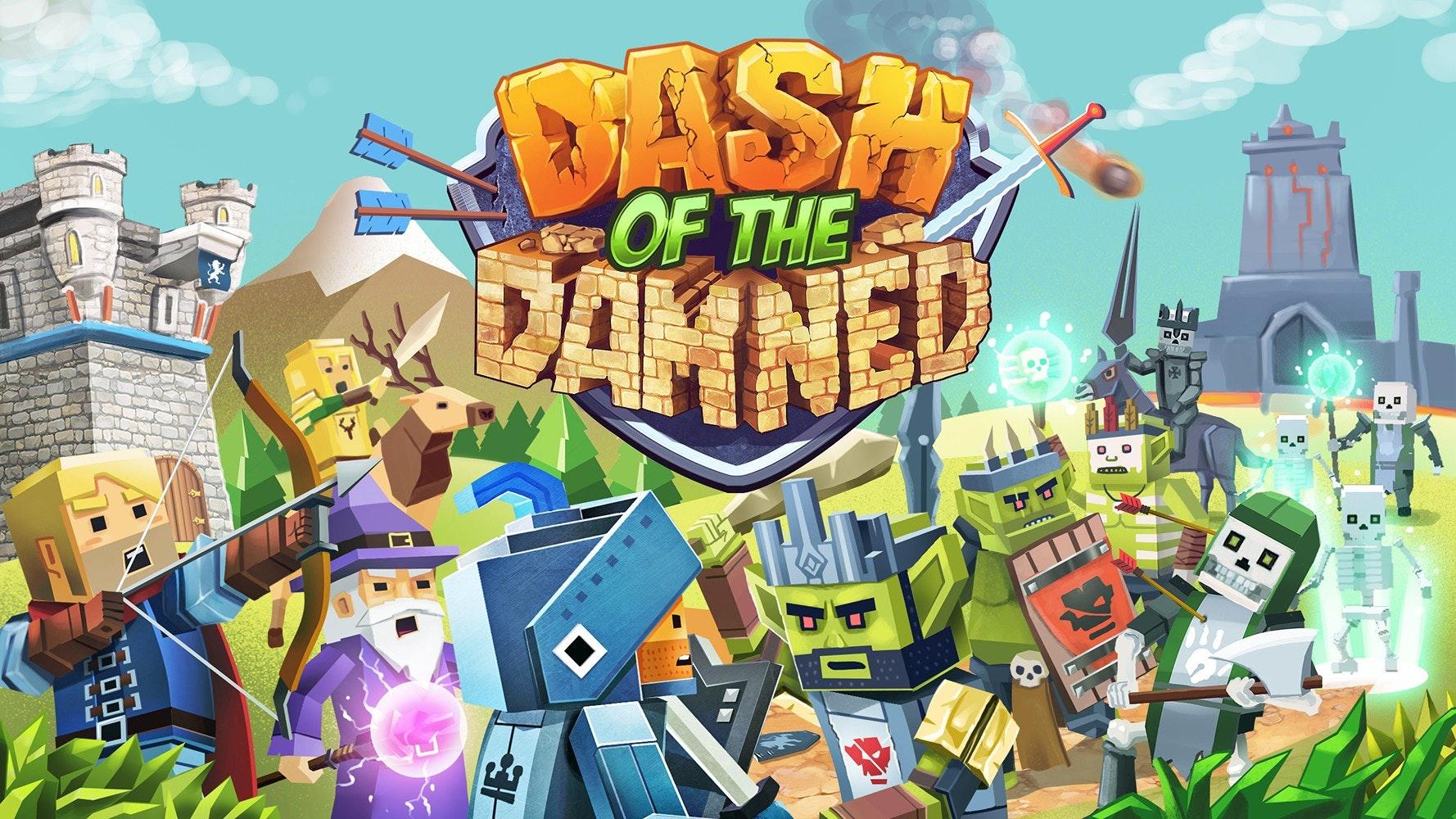 illustration for VR game, Dash of the Damned