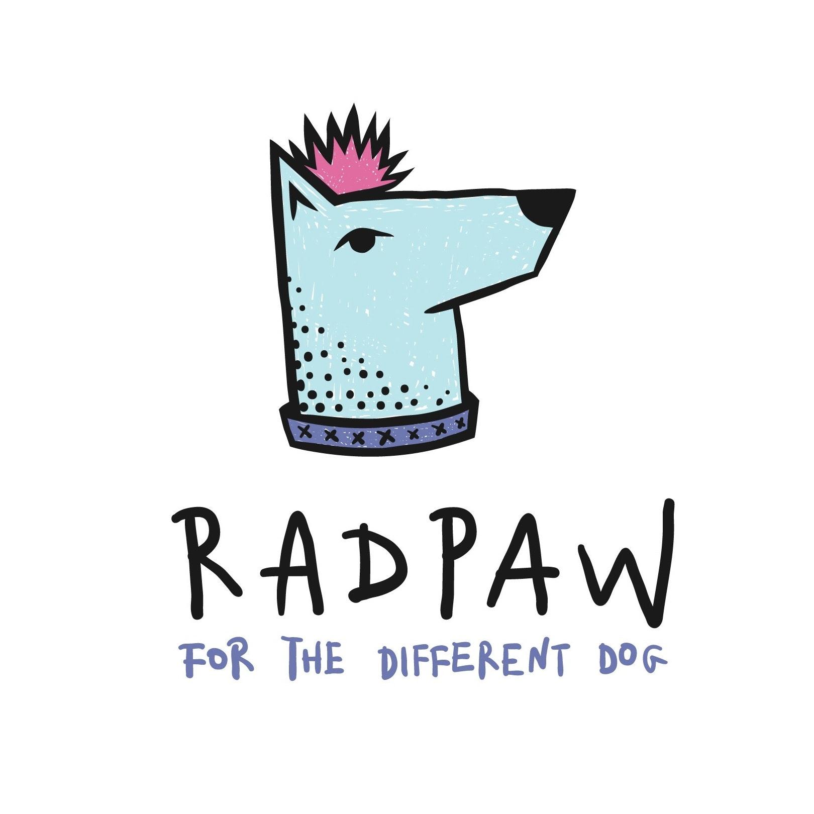 Radpaw logo design