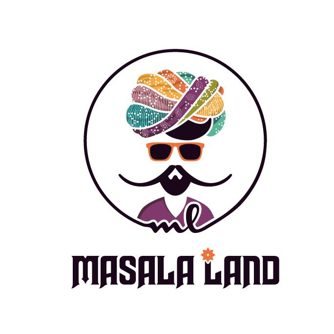 Masala land logo