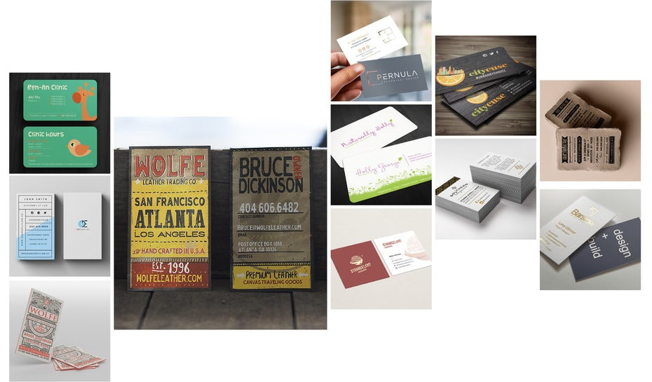 The best business card fonts to make you stand out