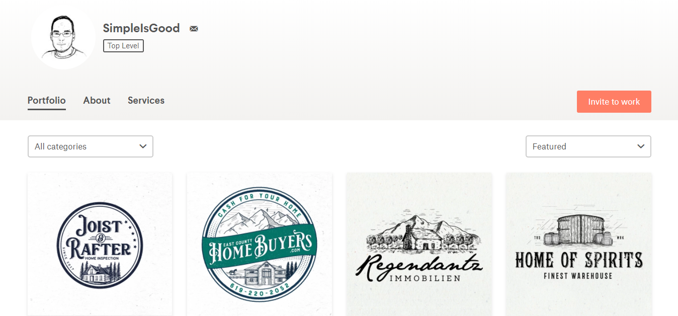 SimpleIsGood logo designs