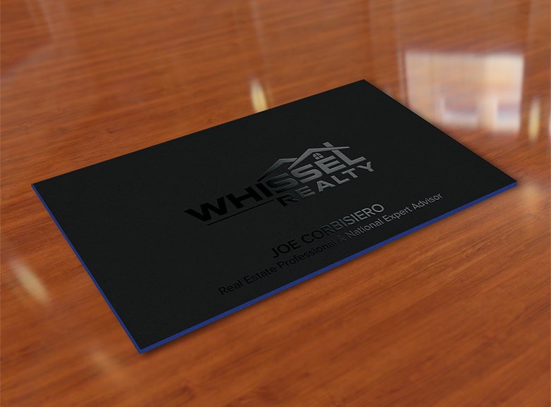 Whissel Realty business card design