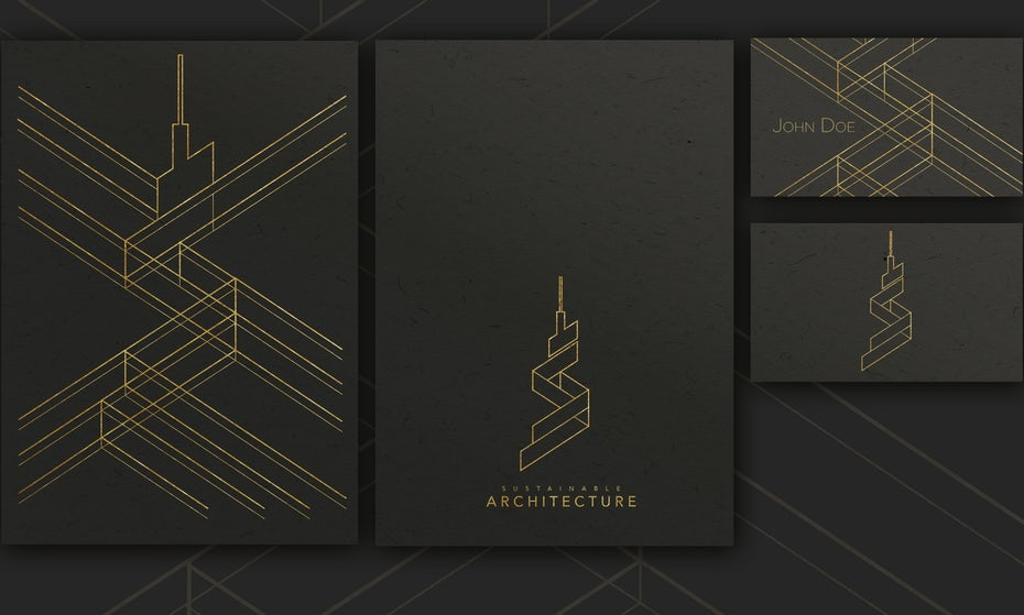 Architecture Sustainable business card