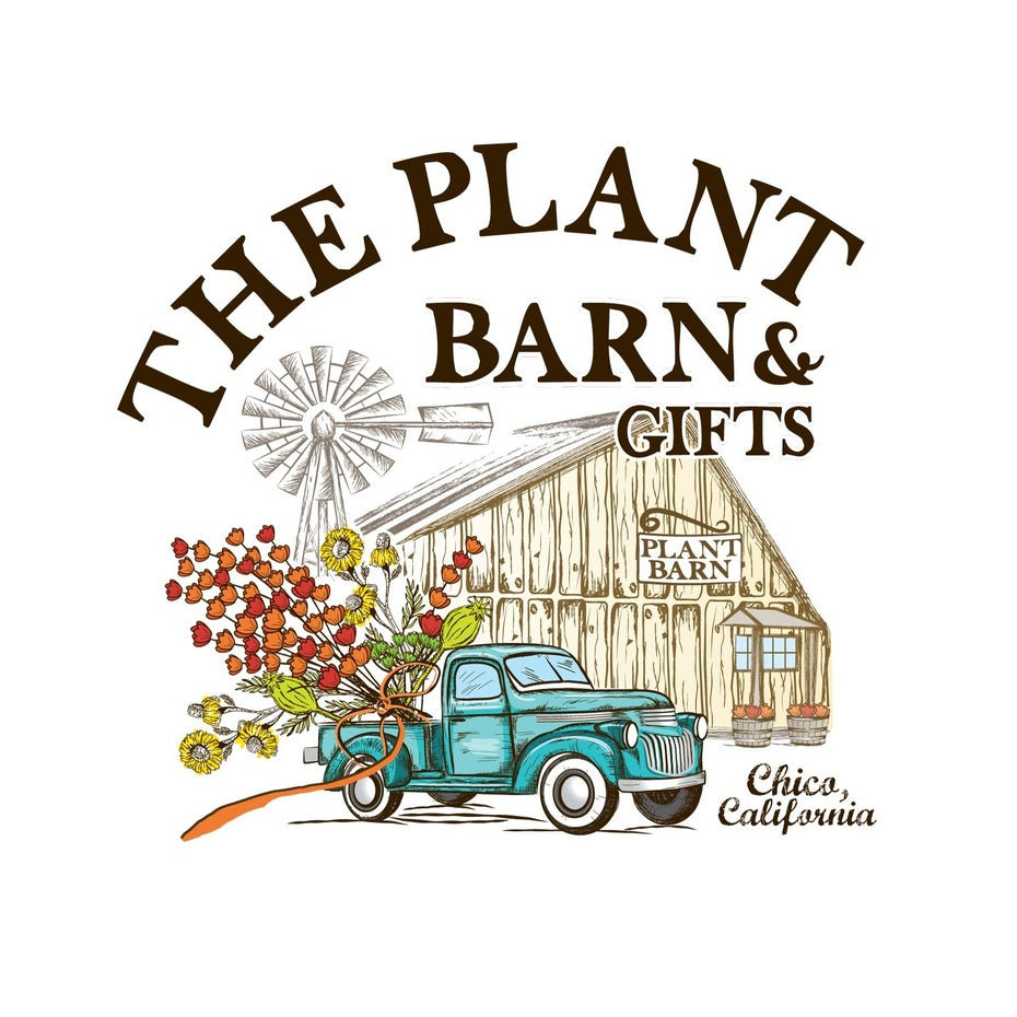 the plant barn logo