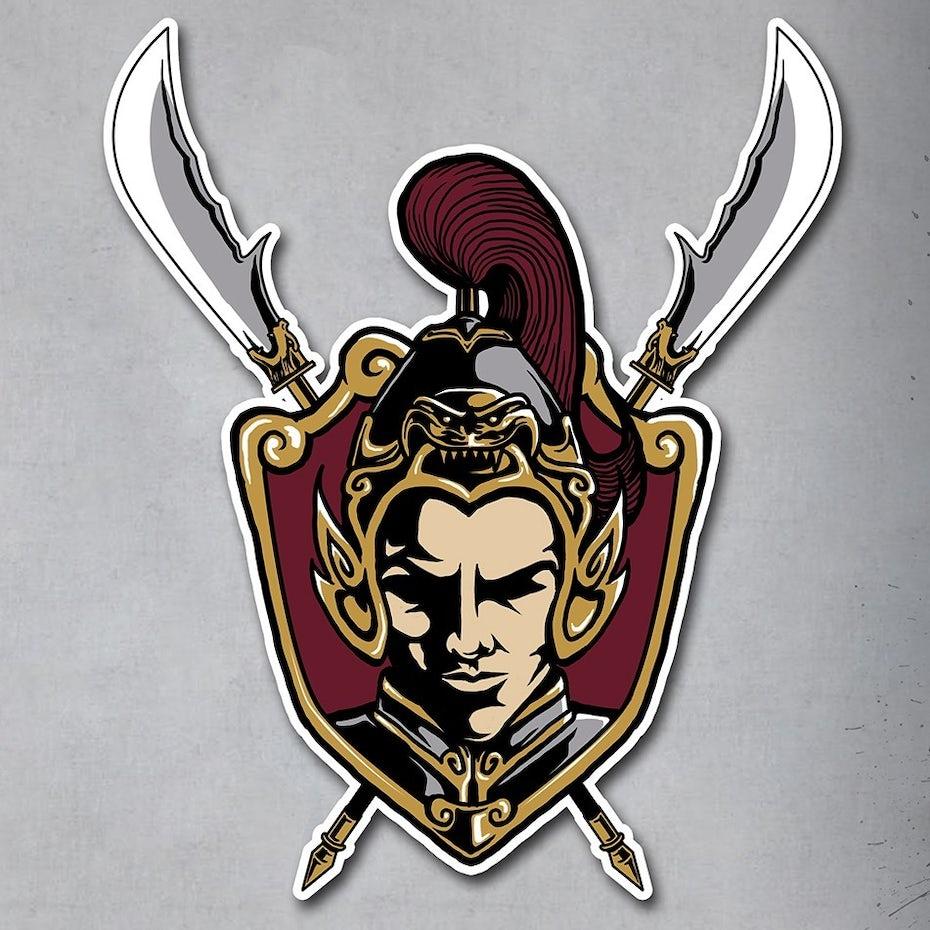 shanghai warrior mascot