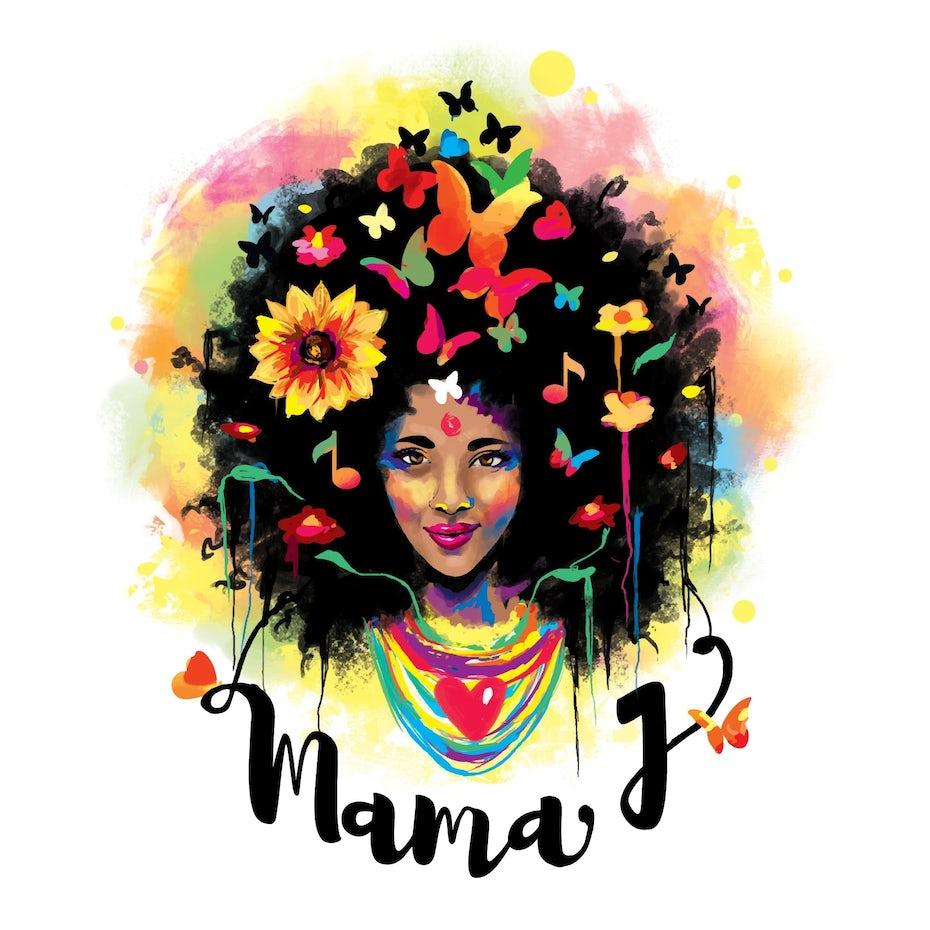 mama J logo