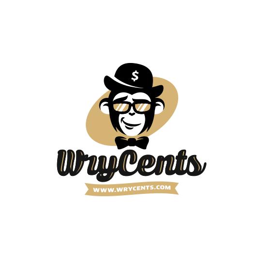 Monkey in a money hat logo