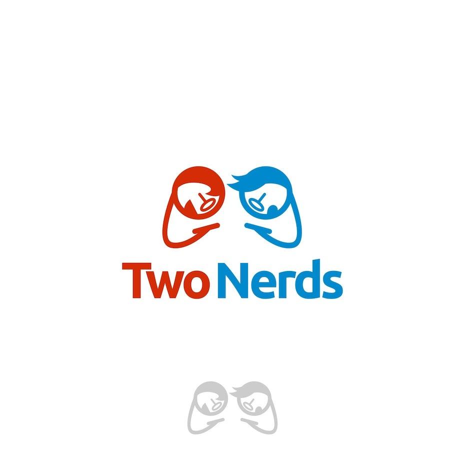 TwoNerds logo