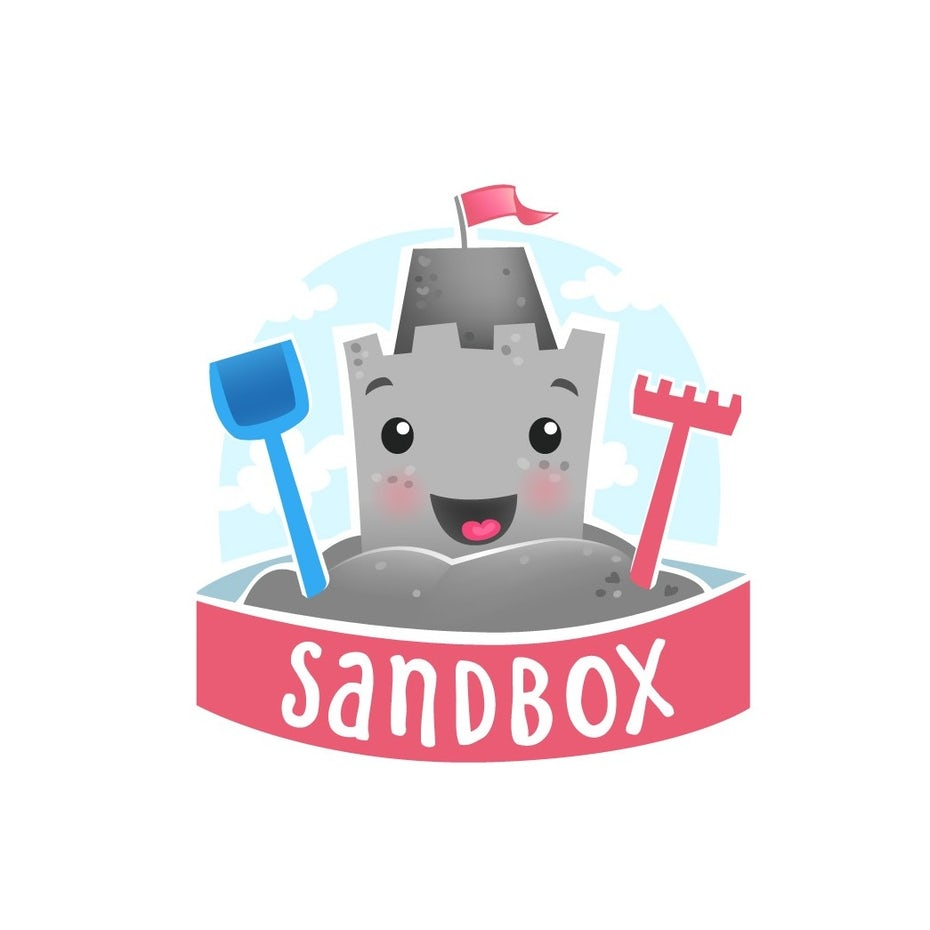 friendly sandcastle