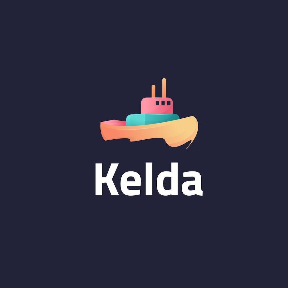 Kelda ship logo