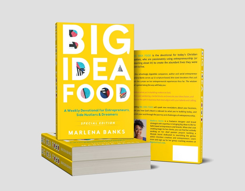 5 ways to sell your ebook so you double your profits 99designs big idea food book cover fandeluxe Image collections