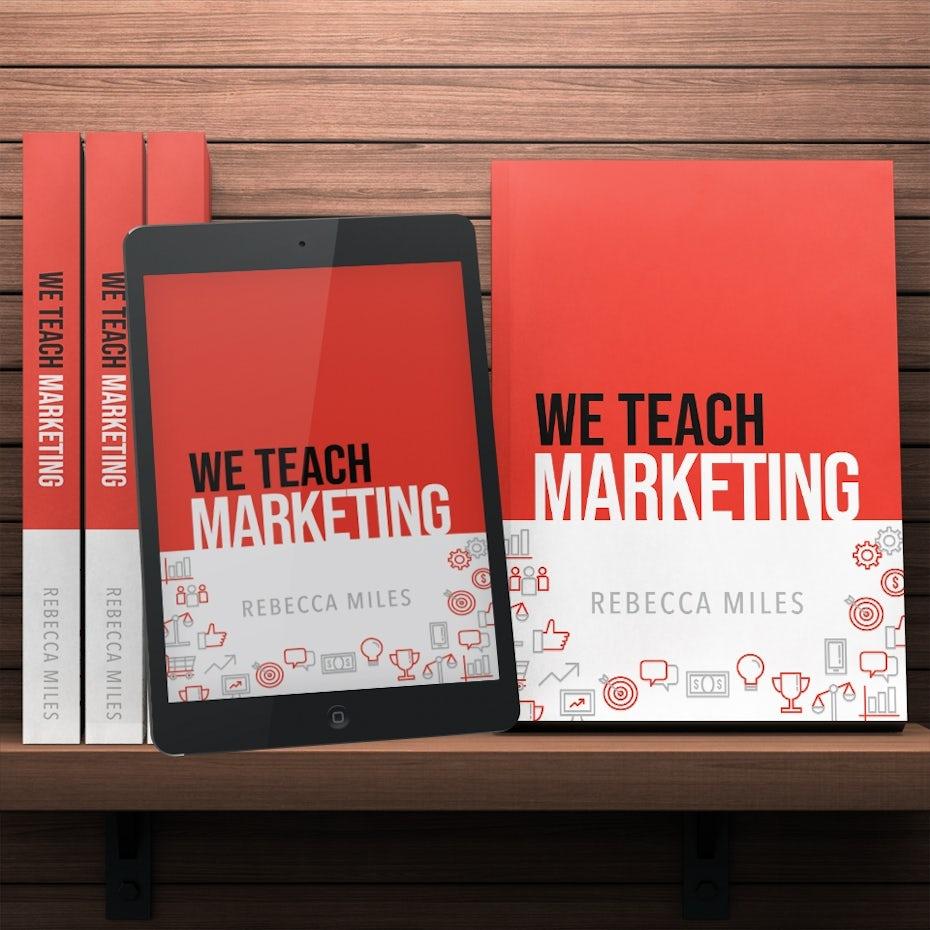 we teach marketing book cover
