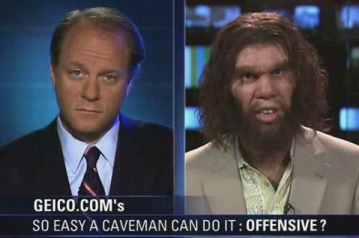 Geico cavemen commercial still
