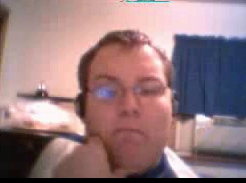 still image from Numa Numa video