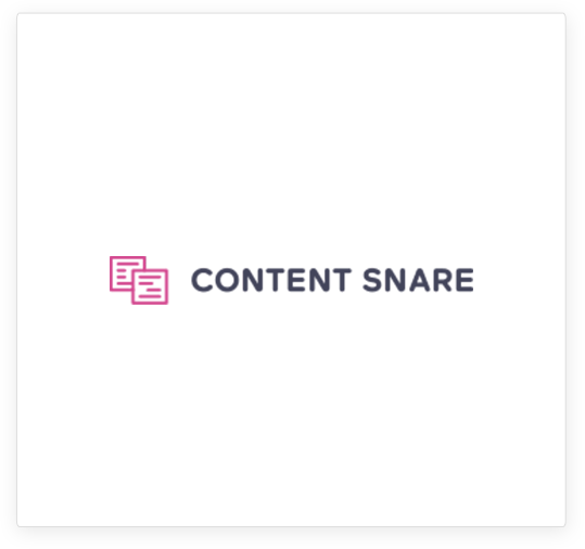 content snare logo