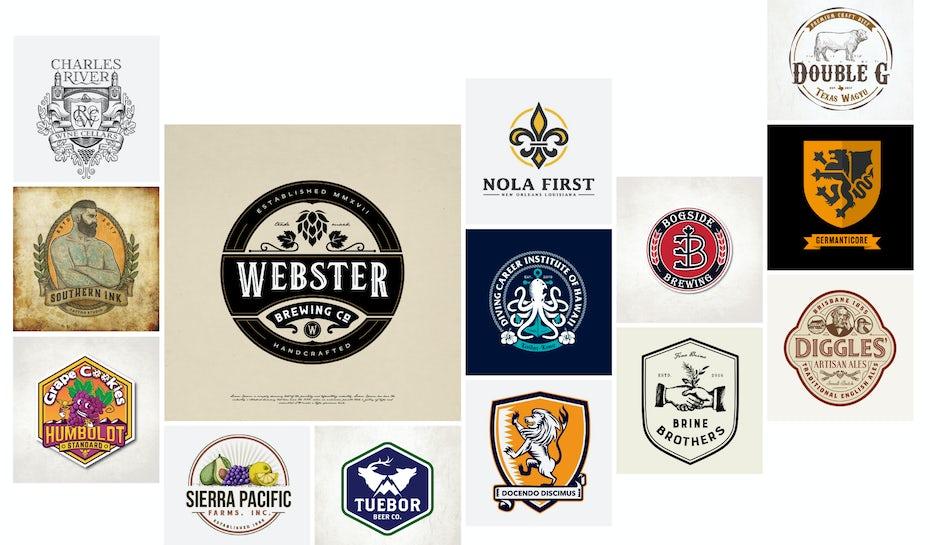 emblem logos