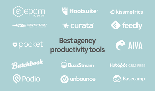 32 outils pour les agences : comment booster sa productivité et développer son entreprise