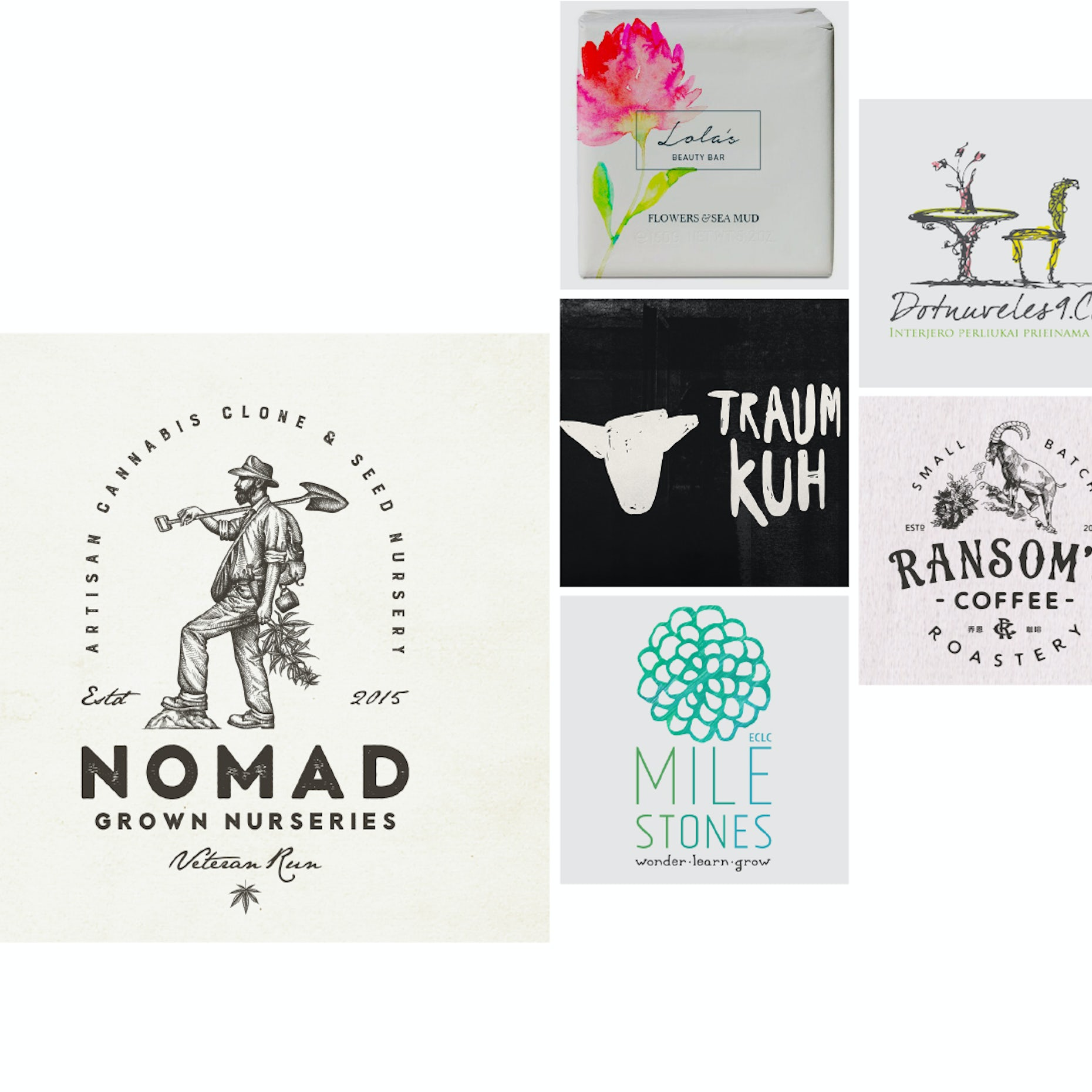20 handmade and hand drawn logos that are simply unique   20designs