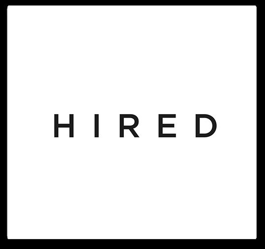 hired logo