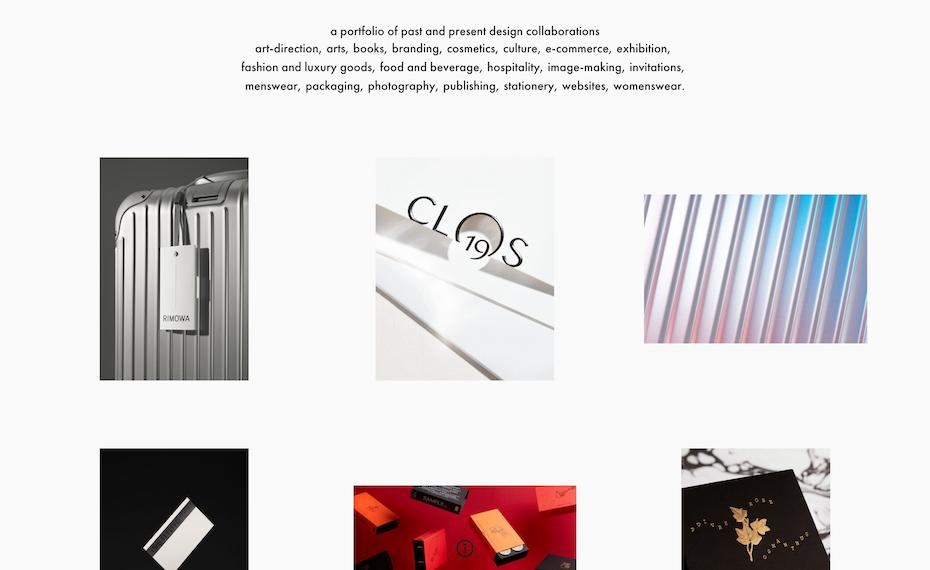 Commission Studio site screenshot