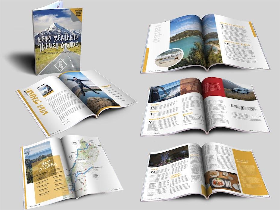 trave guide design