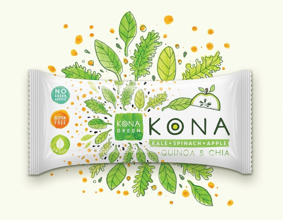 KONA nutrition bars