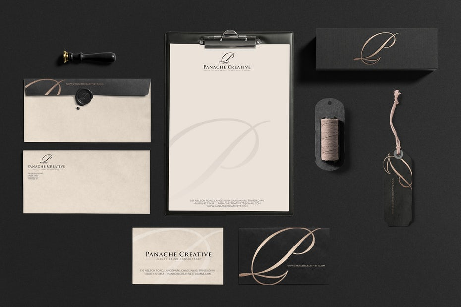 Panache Creative stationery