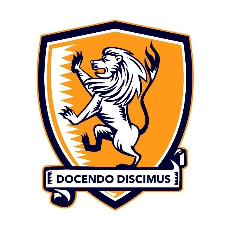 lion on heraldic shield