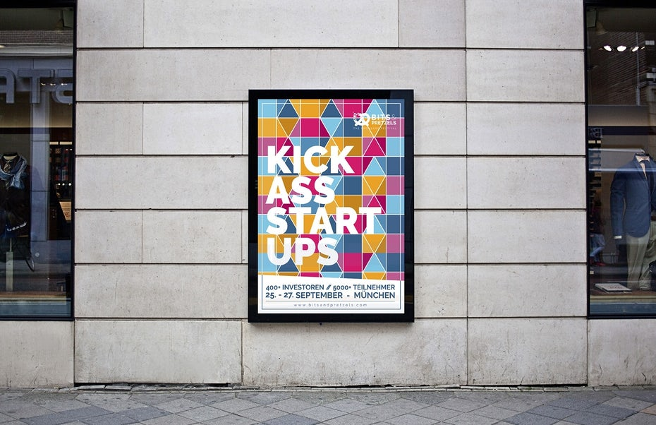 kick ass startups poster