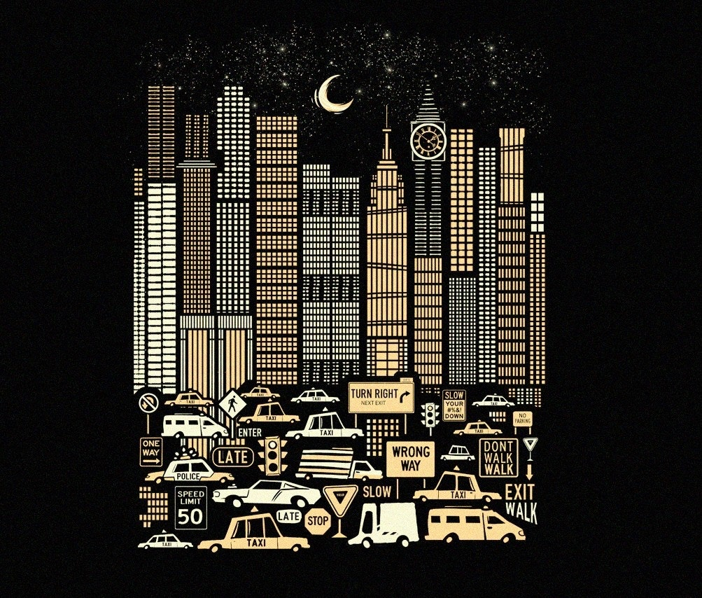 urban cityscape illustration