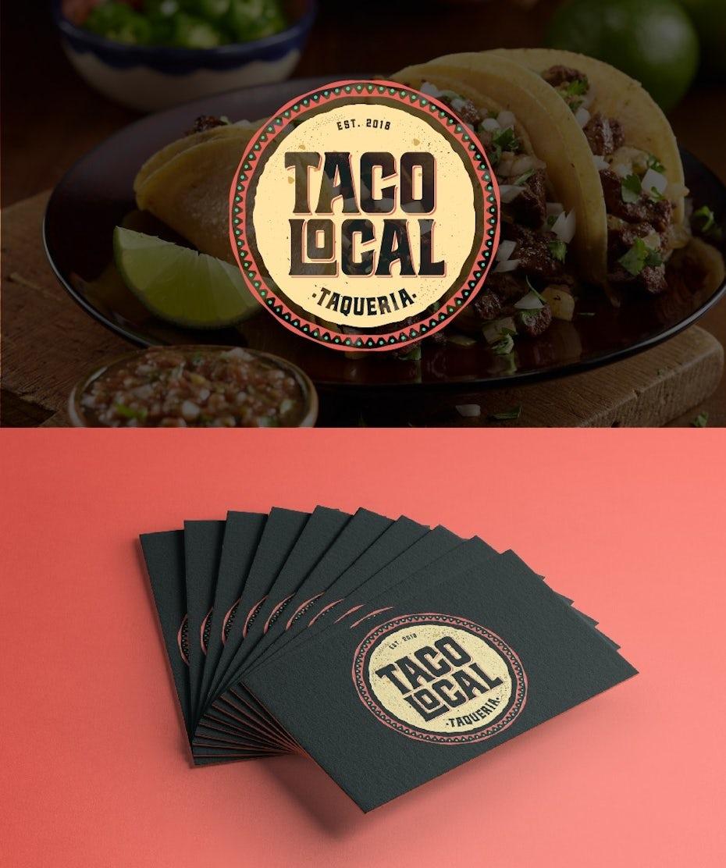 logo for a taqueria