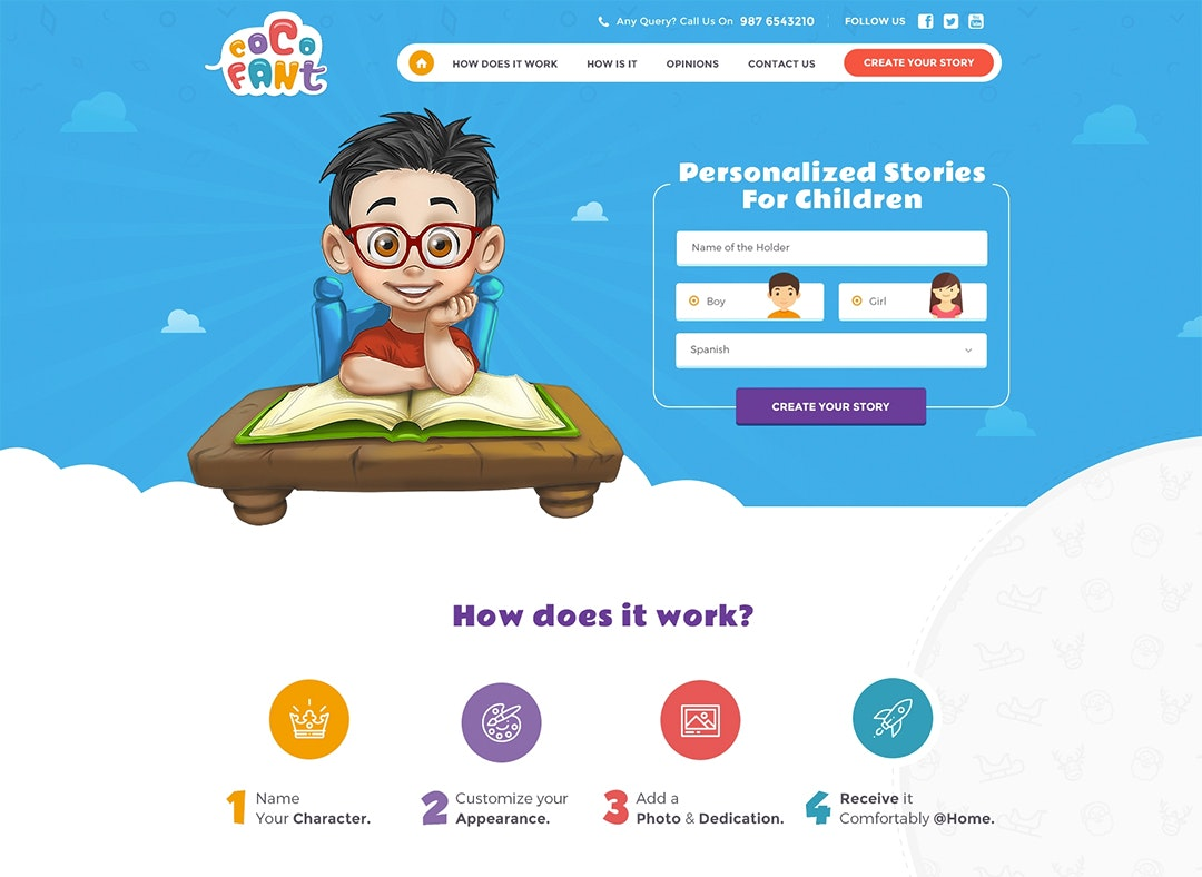 children's website