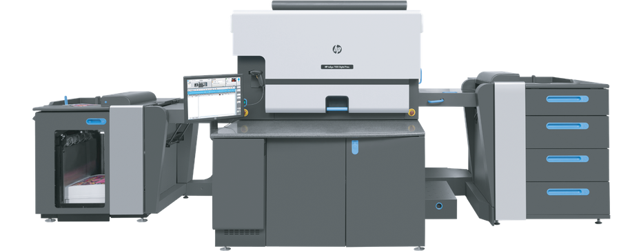 A Hewlett Packard Indigo digital press