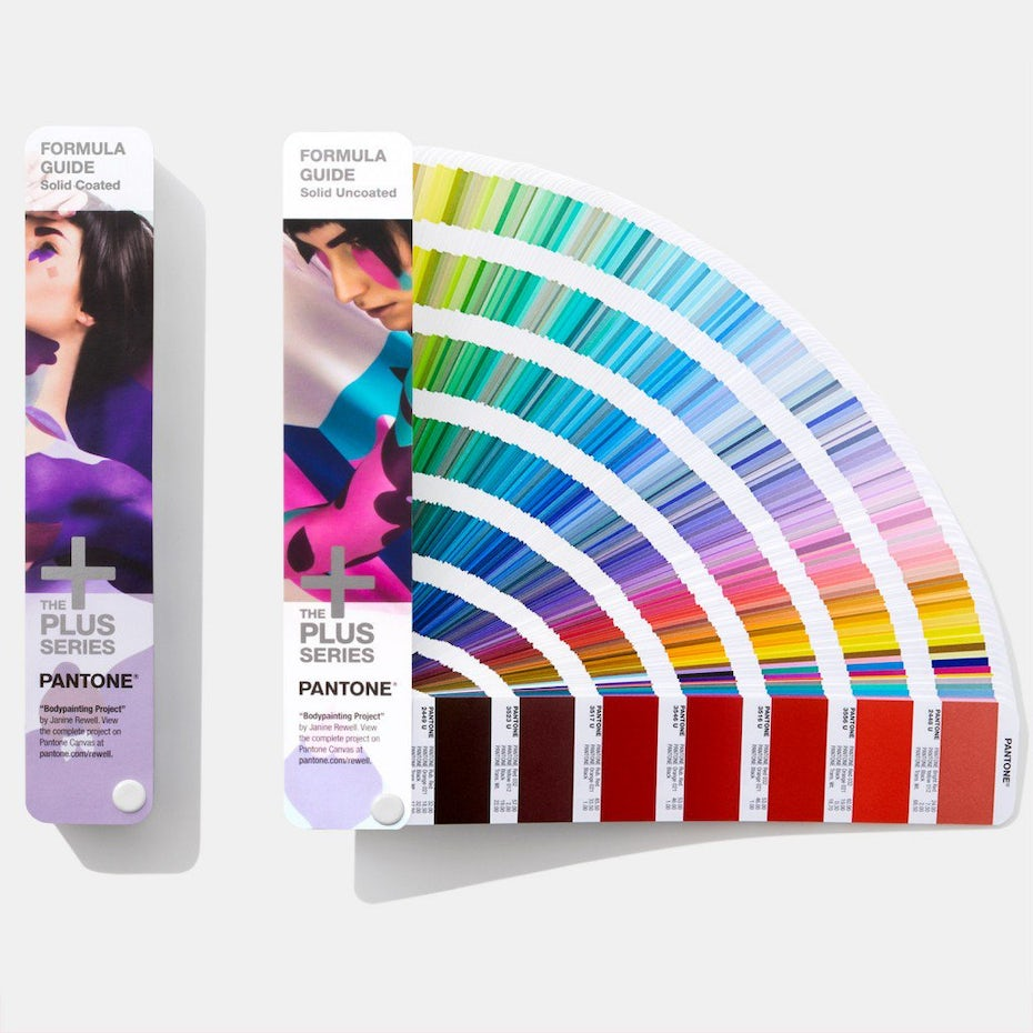 Pantone Matching System color guides