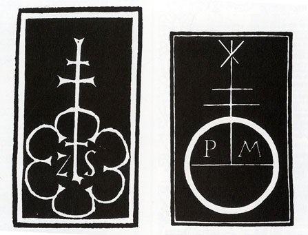 historia del diseño gráfico, Marcas de impresoras de los años 1400.
